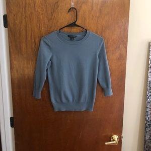 Petite Small Blue Sweater